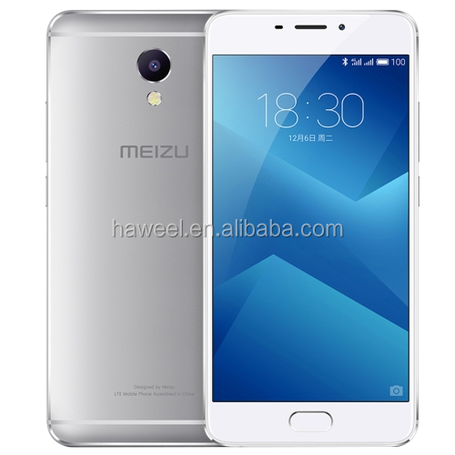 <strong>hot</strong> and new 2017 Meizu M5 Note M621Q, 3GB+16GB Network: 4G/3G/2G(Silver) mobile phone