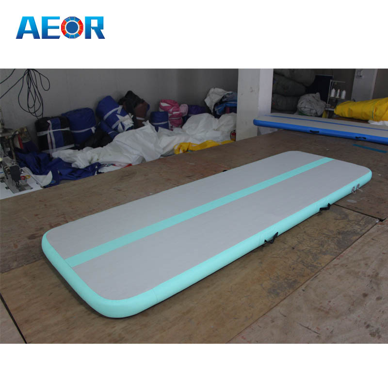 AEOR inflatable gymnastic equipment air roll/air track type air barrels for sale