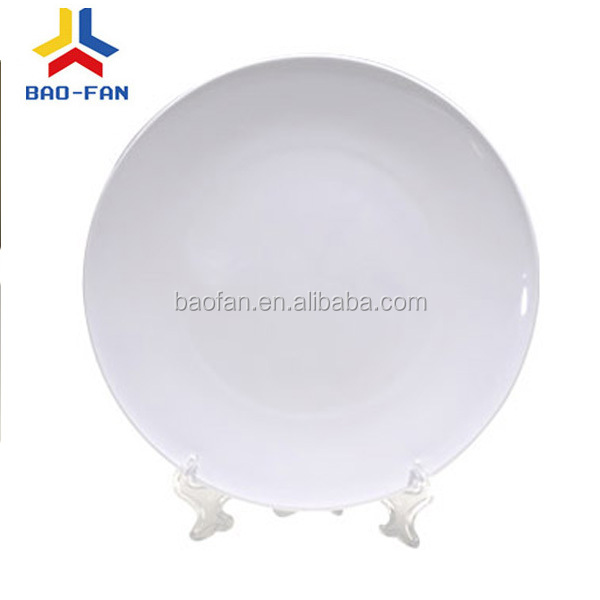 "6"" white sublimation polymer plate"