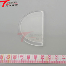 Rapid prototyping transparent acrylic ABS/SLA/PMMA part