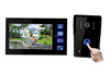7 inch wireless front door monitor with remote unlock and photo-memory