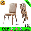 Foshan Stacking Cheaper Aluminum Chair