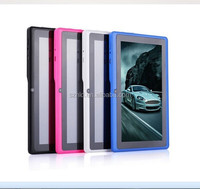 All winner CPU 800*480 Dual core Android 4 A23 Q88 7inch android tablet pc