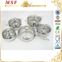 10pcs apple shape kitchen items stainless steel cookware