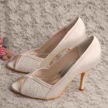 Wedopus Payless shoes mujeres blanco boda