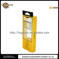 Transparent Plastic PVC Packaging Box With Hang Hole