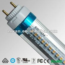 VDE LED tube light circuit with lockable rotating end cap