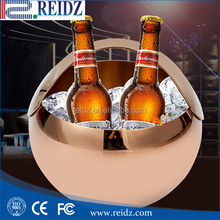 Custom all kind of plastic galss stainless steel wine beer cooler