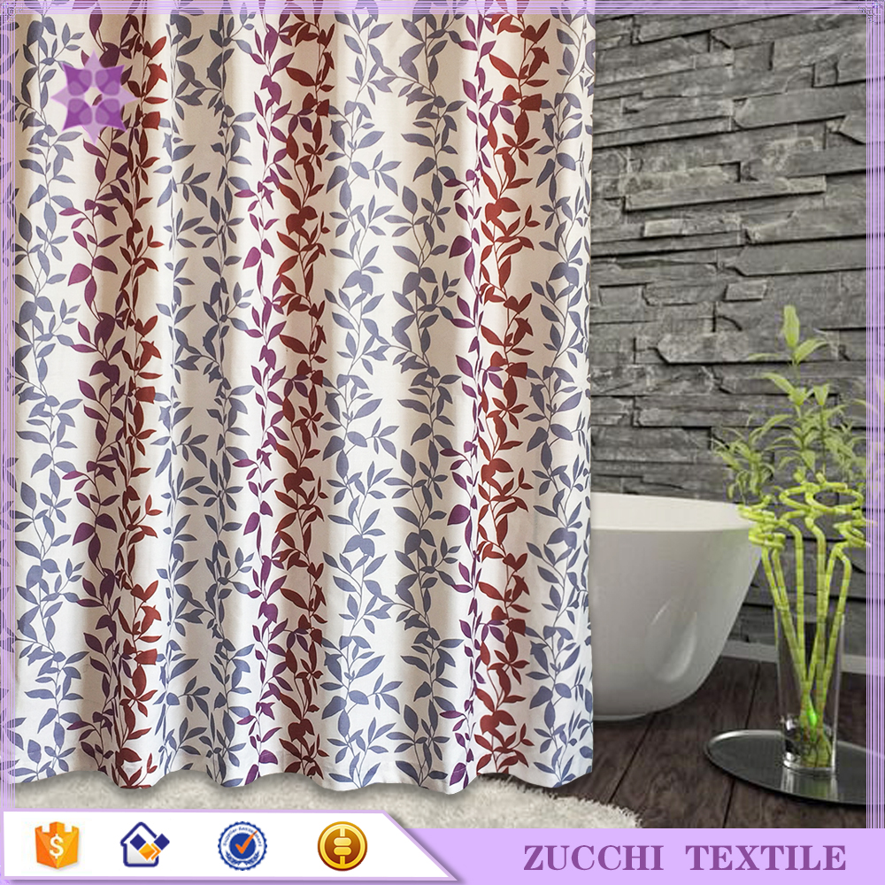 Home Goods Polyester Shower Curtains Wholesale Bath Drape