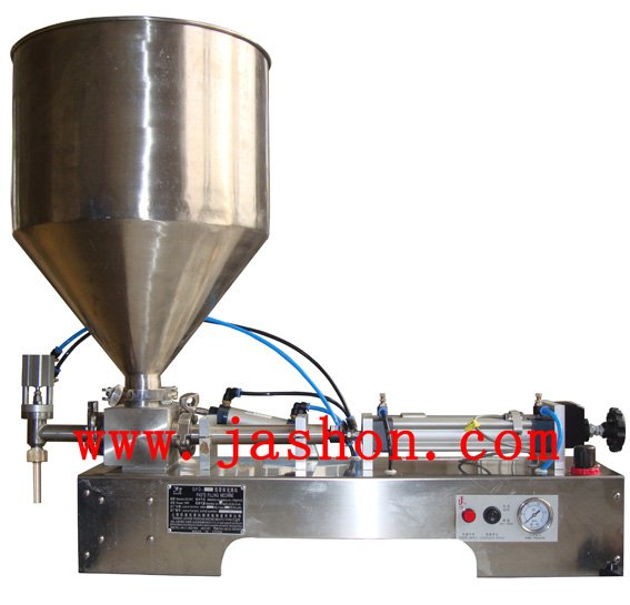 dual nozzles cream filling machine( viscous liquid filler machine)