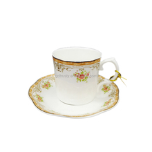 High Quality Wholesale plain white italian coffee cups and saucers for wedding gifts