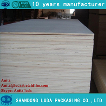 Luda supply 12mm poplar <strong>wood</strong> multilayer deformed / veneer / Packaging / waterproof plywood easy to split