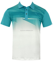 Polo shirt mens design shirt brand tops sublimated t-shirt