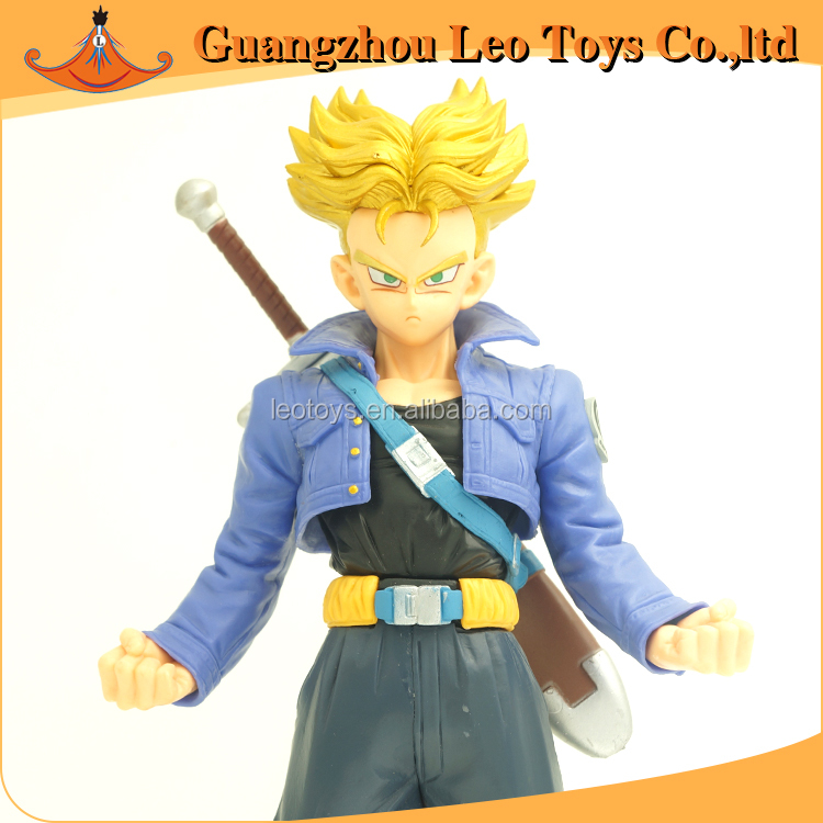Wholesale Dragon Ball Z PVC Plastic 23cm Trunks Toys Anime Action Figure From Toy Manufacturer