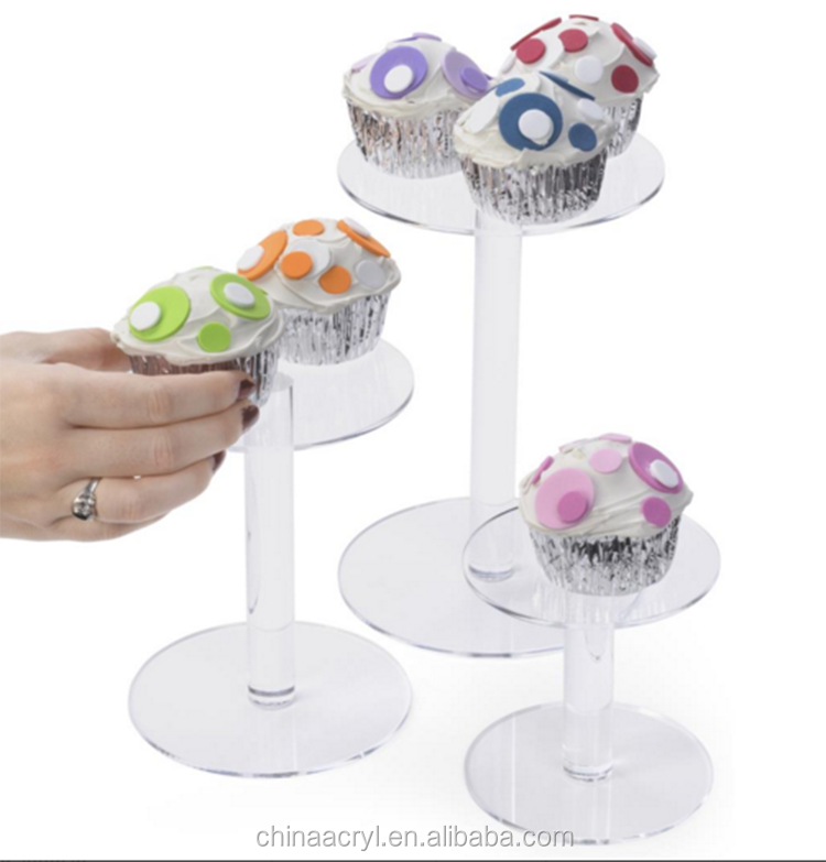 Wedding Table Centerpieces Round Acrylic Risers Cake Stand
