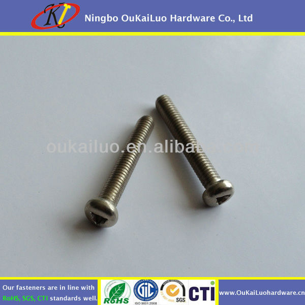 Stainless Steel Anti-theft Screws