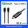 High Speed USB TYPE C 3.1 TO TYPE C 3.1 usb connector