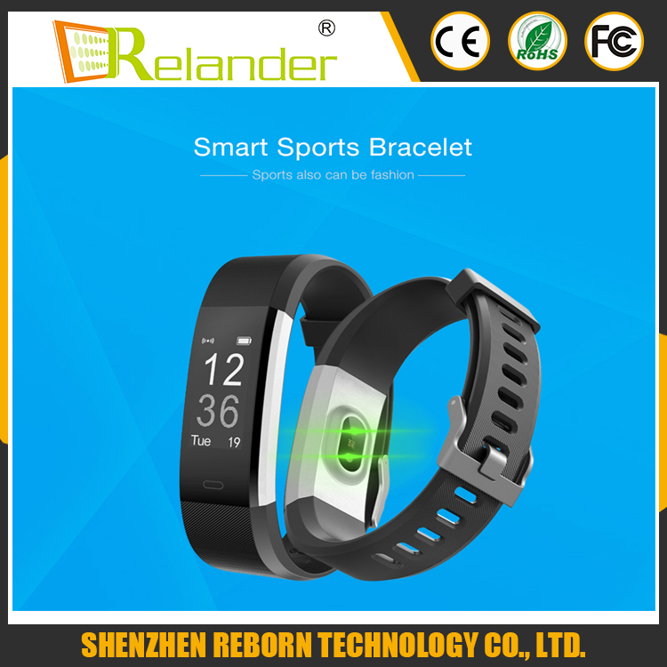 2017 New Sports GPS Tracking Smart Bracelet ID115 Plus IP67 Waterproof Smart Remote Control Sleep Monitor Smart Wristbands