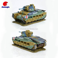 Diecast 1:16 Tank, SWWII cale Tank Model, Collectible Military Tank Model