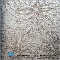 Eco Friendly Pattern Embossing Pu Leather