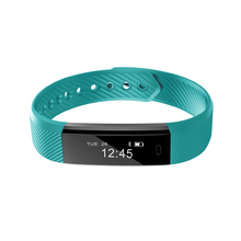 LED light Smart Band ID115Lite Step Count, Pedometer, Call Message Alert, Sleep Monitor Smart Band Bluetooth Veryfit APP