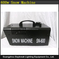 2PCS/LOT 600W snow machine Small stage snow effect Machine AC110v/220v