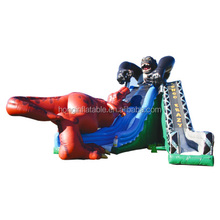 Giant inflatable dinasour kingkong slide,popular kids inflatable slide for rental/events/playground/party/amusement park