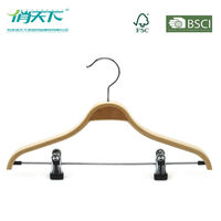 Betterall WL6005 Cheap Plywood Coat Hanger