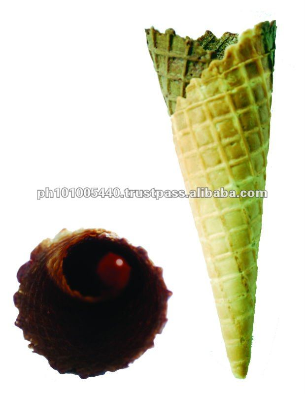 Ice Cream Sweet Taste Sugar Cones
