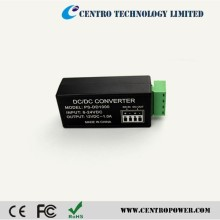 Power supply voltage converter 24V AC to 12V DC 1a output current for security camera