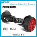 UL2272 Battery Powered Electric Hover Board Two Wheels 8.5inch 800W With Bluetooth