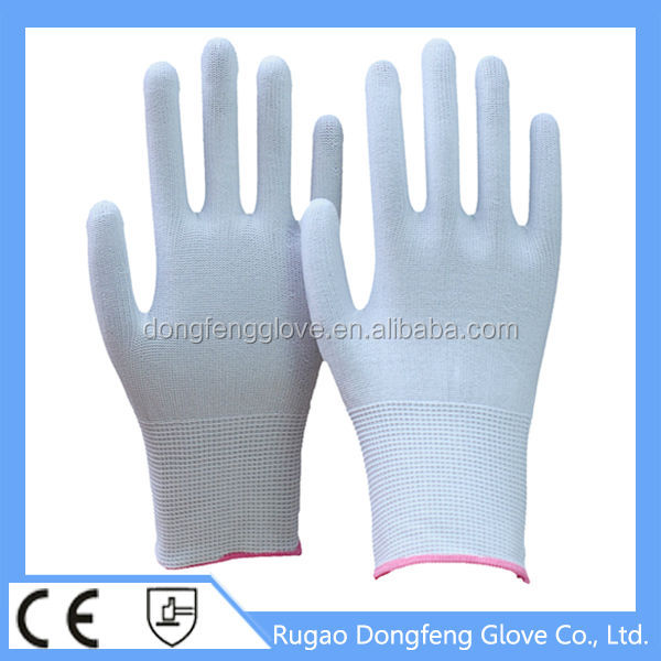 Personal Protective Equipment Nylon Working Gloves / Hands Wear