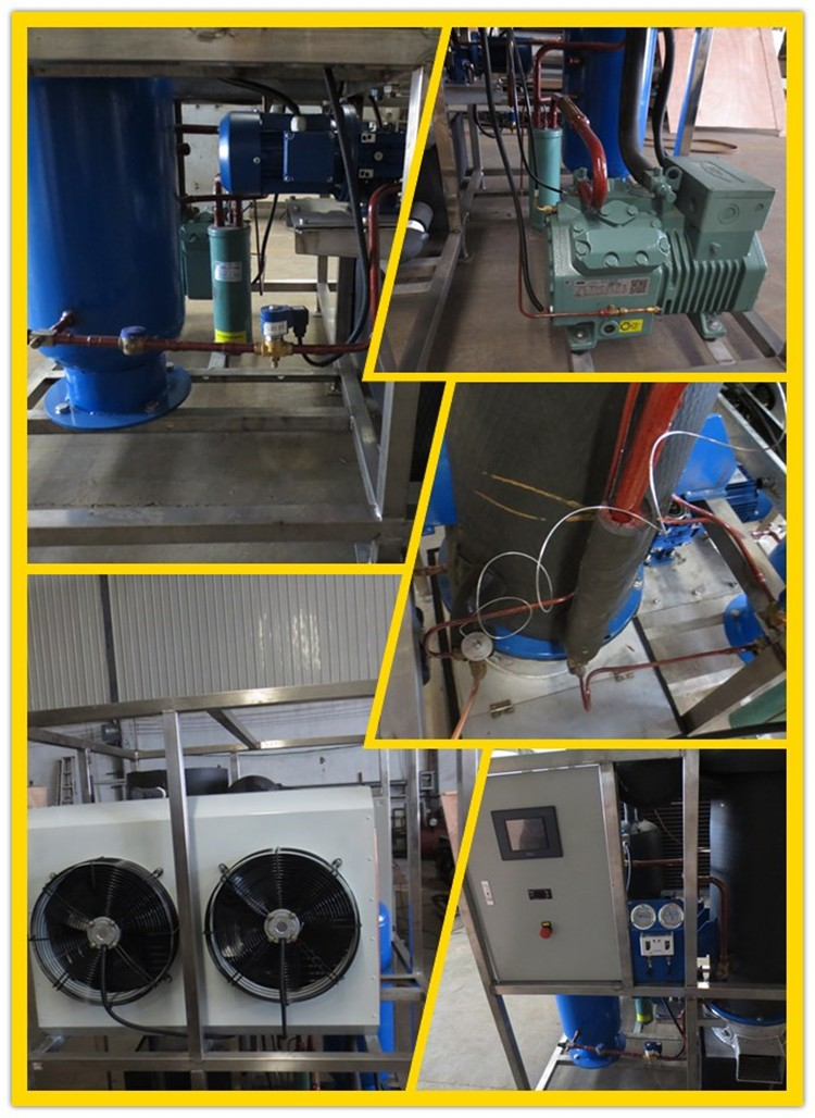 1 ton tube ice making machine philippines 2018 hot-sale