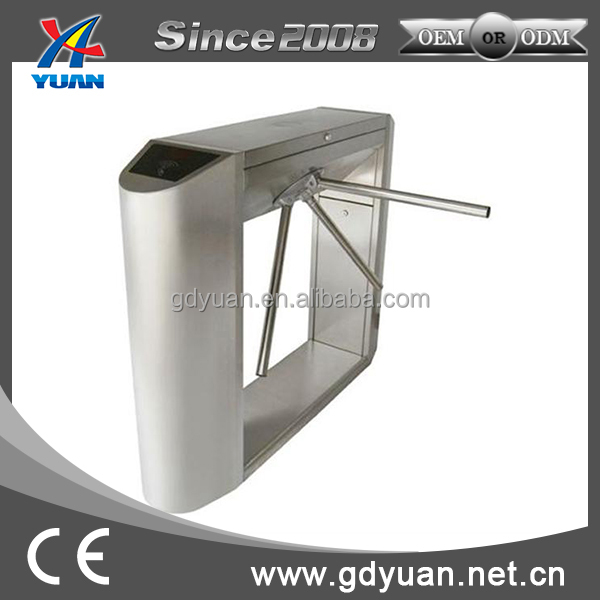 stainless steel high quality durable electronic tripod turnstile barrier