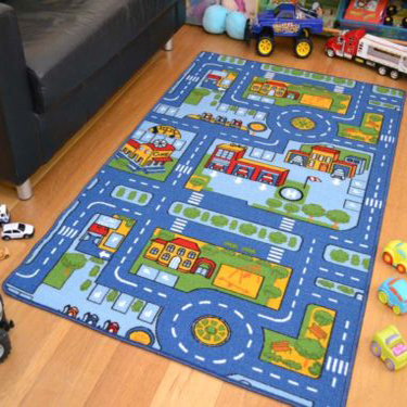 Eco-friendly Rug Living Room for Kids Playing