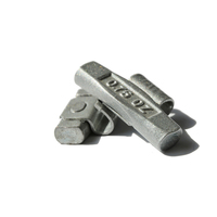 Motorcycle clip on wheel weights Fe clip wheel balance weights