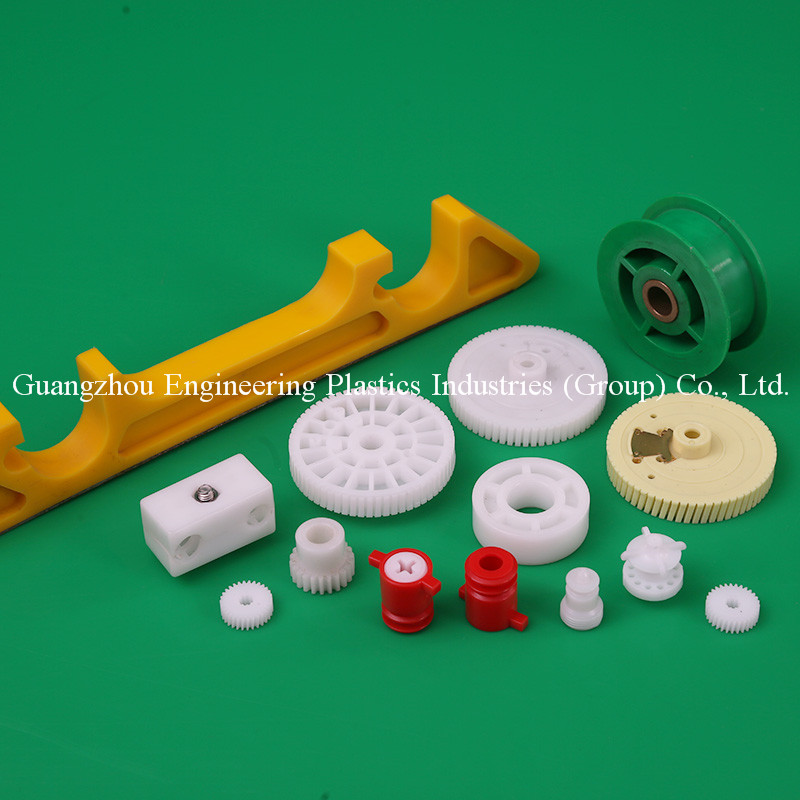 Free sample engineering custom made cnc machined center transmission plastic worm gear mold