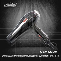 Most powerful industrial no noise hair dryer wall mounted with concentrator 2300w professional salon machine