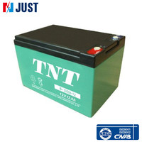 TNT electric scooter 6-dzm-12 12v 12ah batteries with Warranty One Year