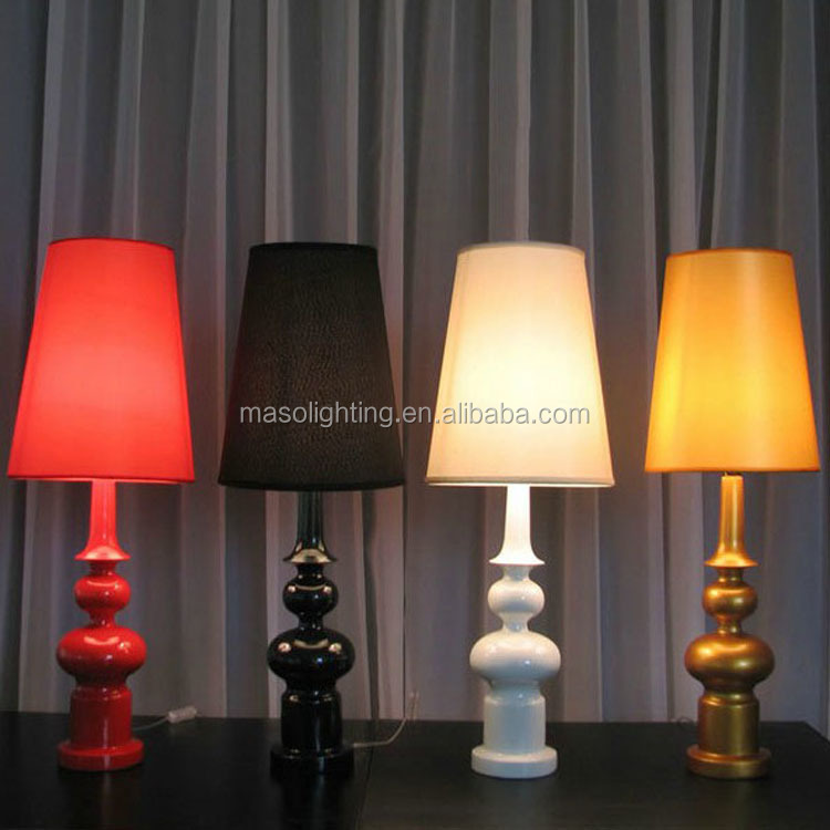 Modern Europe Table Lamp for Hotel Room Living room resturant coffee shop decorative Fabric Table Lamp with CE ROHS UL