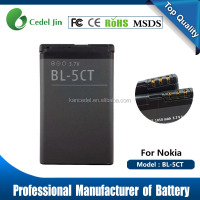Mobile Phone BL-5CT Battery For Nokia For Nokia 5220XM 6303C 6730C C5-00 C6-01 C3-01