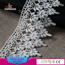 factory wholesale punjabi suit lace design cotton lace trim yard chemical lace trim SRTM25
