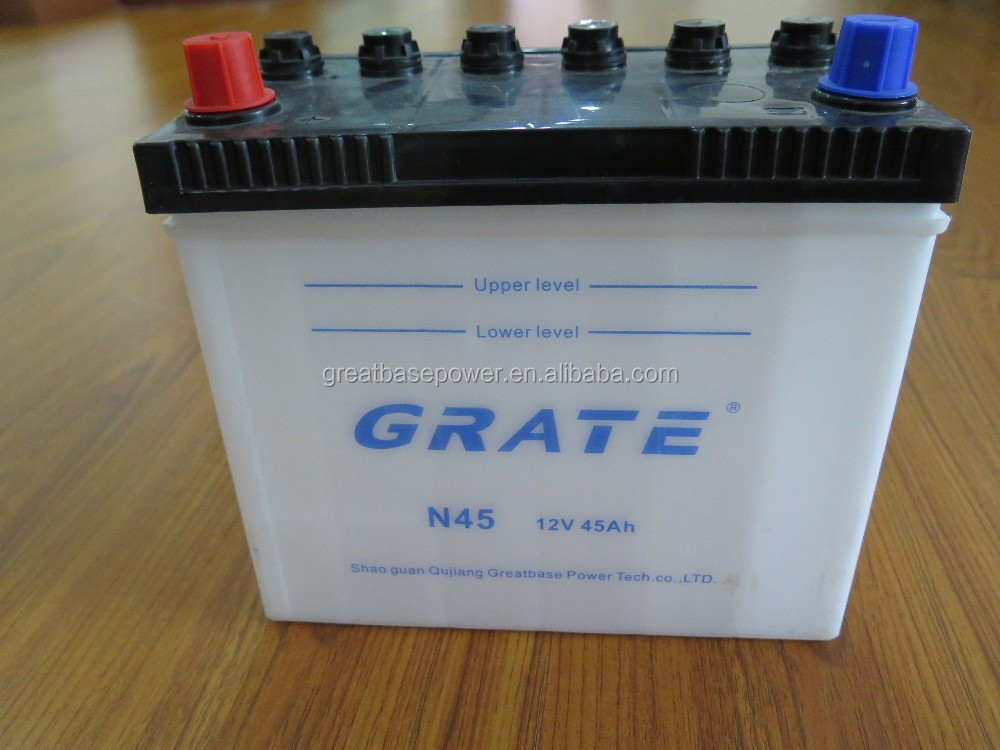 12v 36Ah dry charge car battery manufacturer