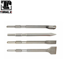 TIANLE high grade special steel hex shank chisels with hex shaft