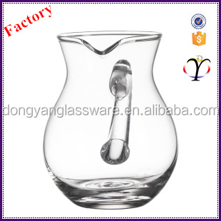 Specical design different shape 300ml hotel buffet supplies lead free colored crystal single glass wine decanter