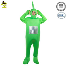 Popular Men's Green Television Show Baby Cartoon Cosplay Costume Fancy Dress Cosplay Party Green Jumpsuit Costume For Mens