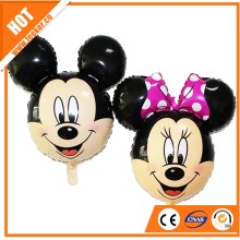Carton character Cartoon design mickey minnie shaped foil helium balloon