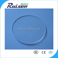 High temperature resistance colorless pyrex optical glass