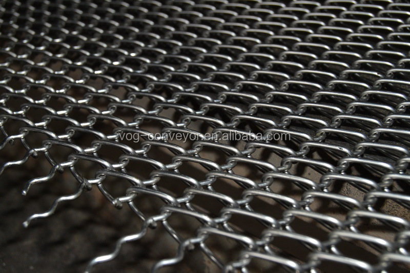factory cheap 304 stainless steel wire mesh conveyor belt