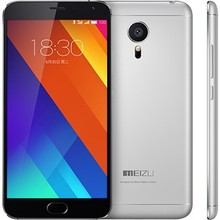 In Stock Original MeiZu MX5 4G LTE Mobile Phone MTK6795 Helio X10 Turbo Android 5.0 5.5 Inch IPS 1920X1080 16GB ROM dual sim